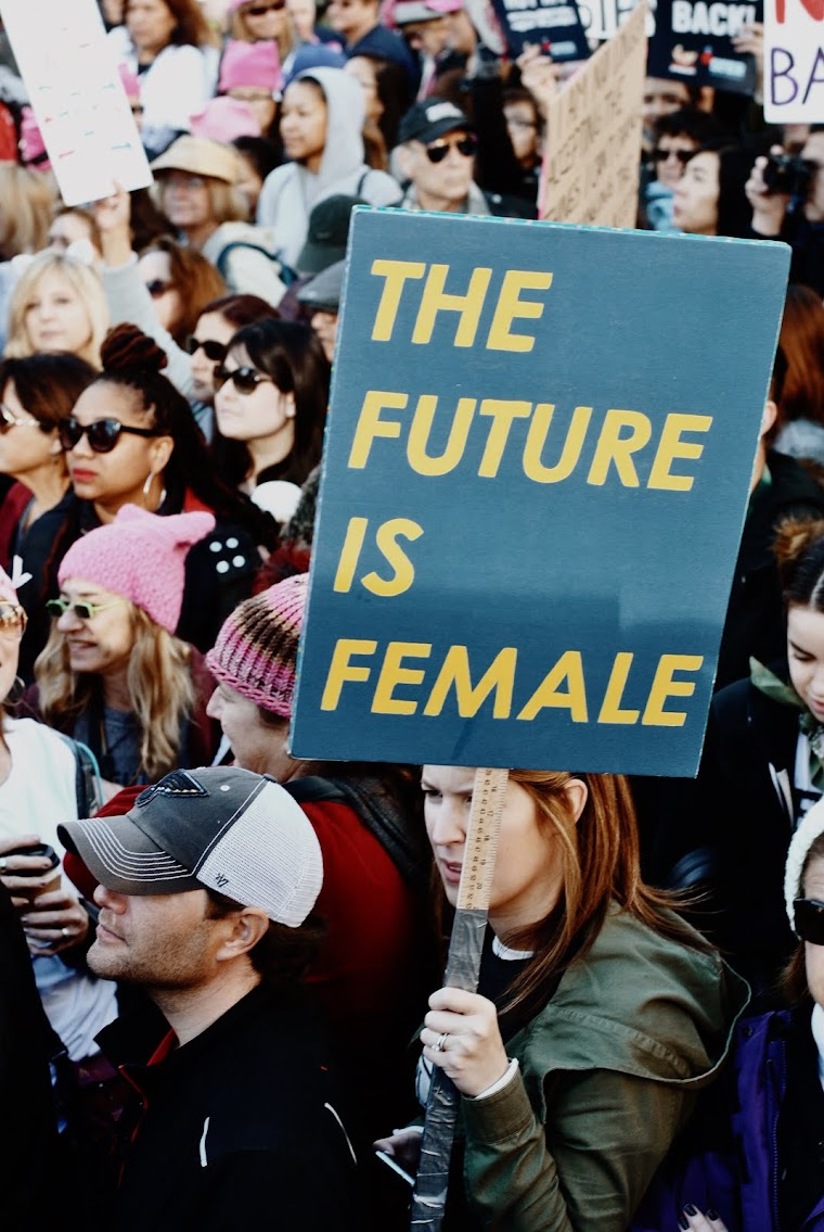 Women's March, Women's March LA, Women's March on Washington, Equal Rights, Feminism, Feminist, The Future is Female, Revolution, DTLA, Pershing Square, offthegridinthecity, Protest, Peaceful Protest, Equality, Power to the People, Off The Grid in the City