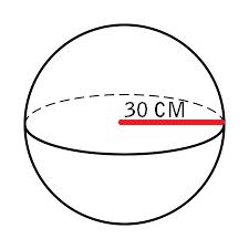 Luas Permukaan Bola soal 3