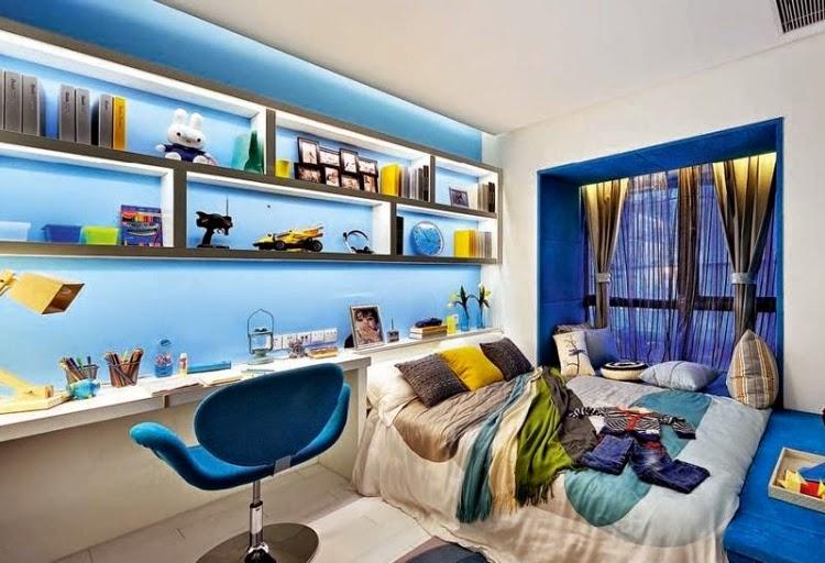 10 dormitorios juveniles para chicos dormitorios colores - Habitacion juvenil chico ...