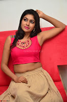 Akshita super cute Pink Choli at south indian thalis and filmy breakfast in Filmy Junction inaguration by Gopichand ~  Exclusive 100.JPG