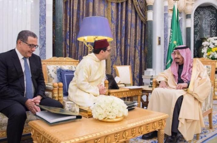 رسالة من الملك محمد السادس إلى الملك سلمان بن عبد العزيز