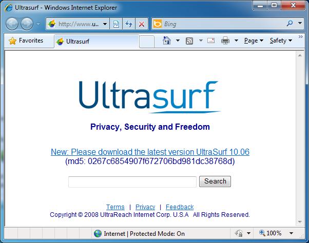 ultrasurf 13.04 gratuit