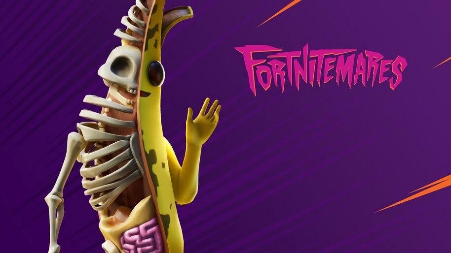 Fortnite, Peely Bone, Fortnitemares, Skin, Outfit, 4K, #5.1255