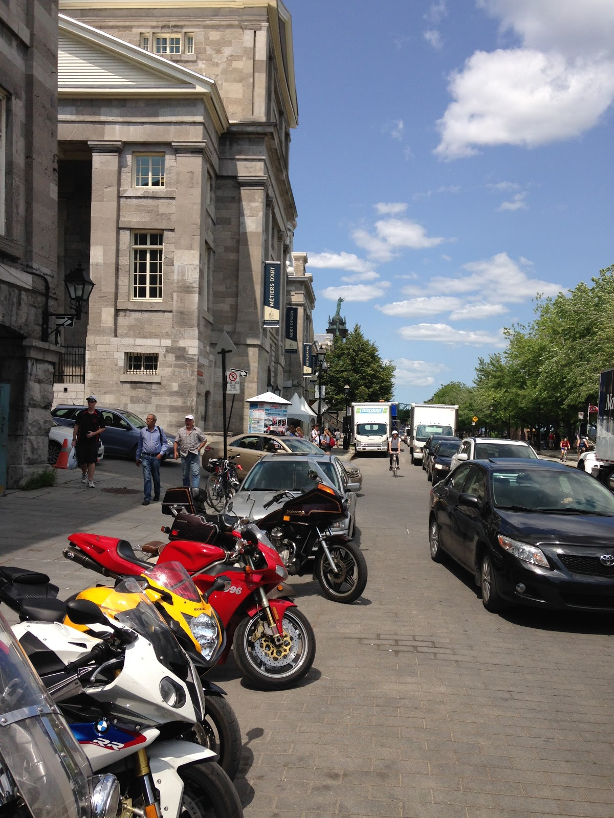 Tigho NYDucati: Oh Canada: To Montreal on Motorcycles