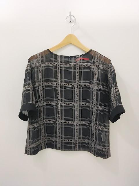 mintdesigns【ミントデザインズ】CHIFFON LACE TOP SHIRT◆香川・綾川店