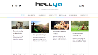 download Hellya Responsive Blogger Template