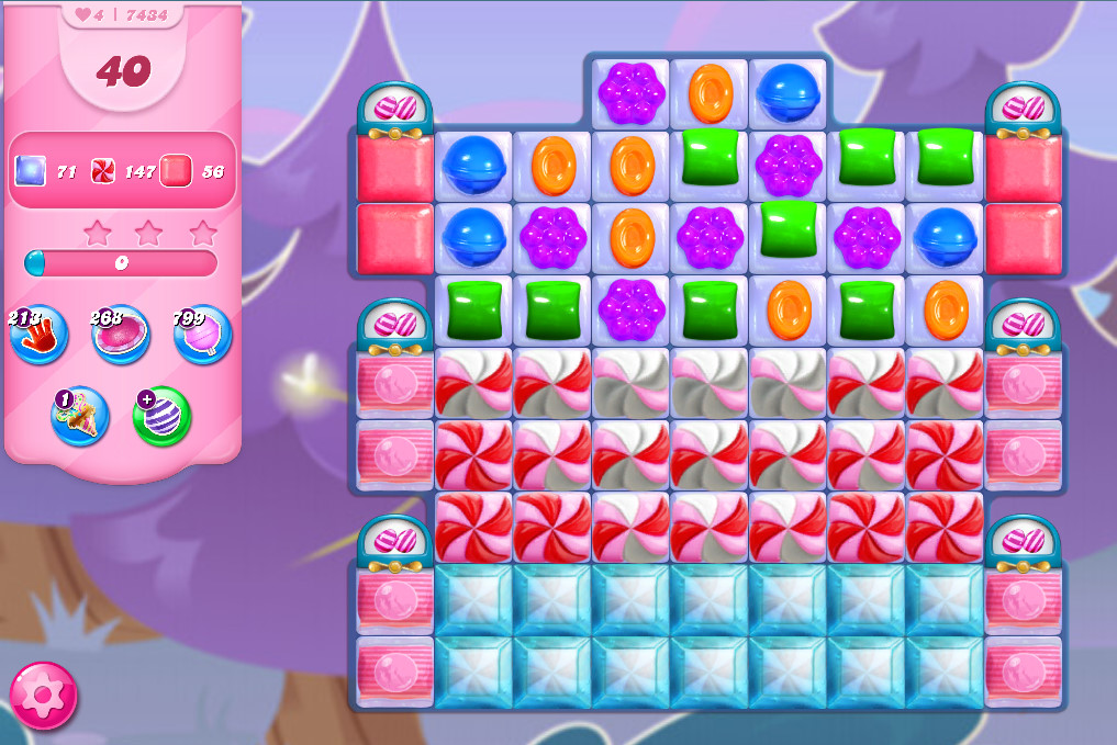 Candy Crush Saga level 7434