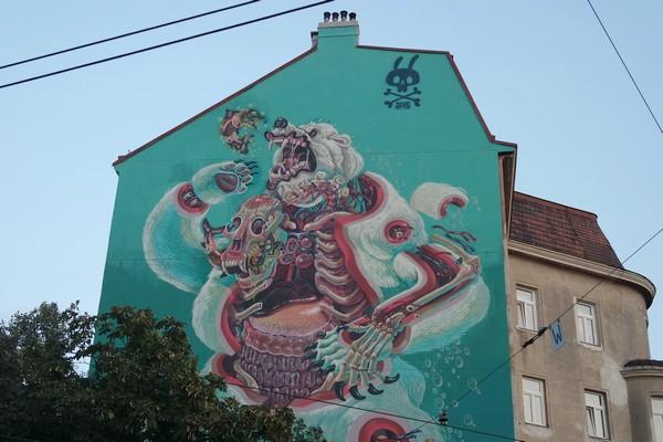 vienne vienna street art florisdorf