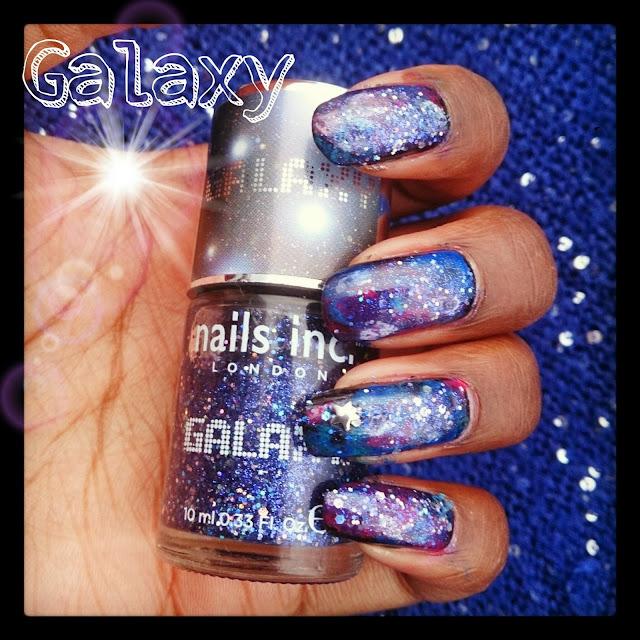 Manucure galaxie