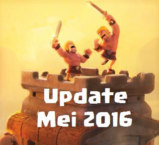 clash of clans update mei 2016