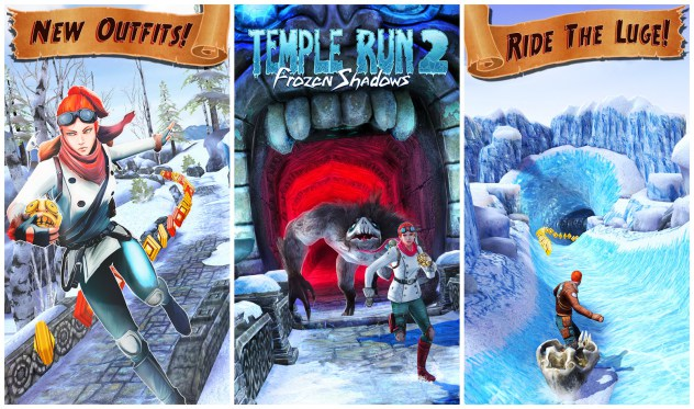 Frozen Shadows Temple Run