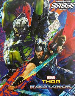 Thor Ragnarok Superhero Thailand Poster