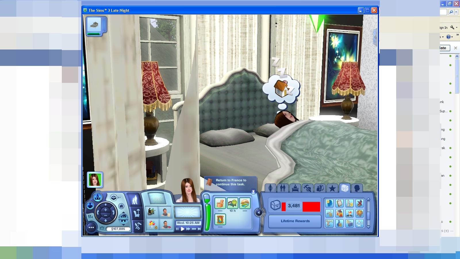 สูตรรางวัลชีวิต The Sims 3