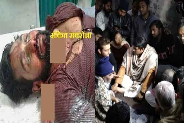 delhi-bjp-president-manoj-tiwari-demand-justice-for-ankit-saxena