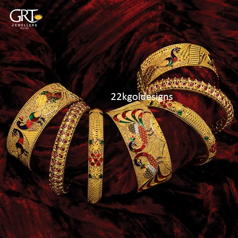 Gold bangles Archives - Page 11 of 15 - 22kGoldDesigns