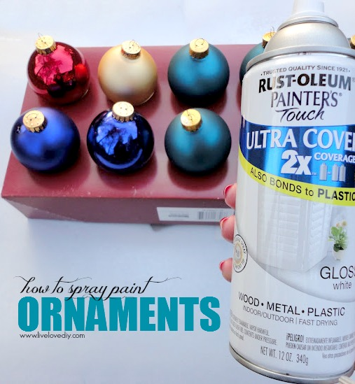 LiveLoveDIY: 10 Spray Paint Tips: What You Never Knew About