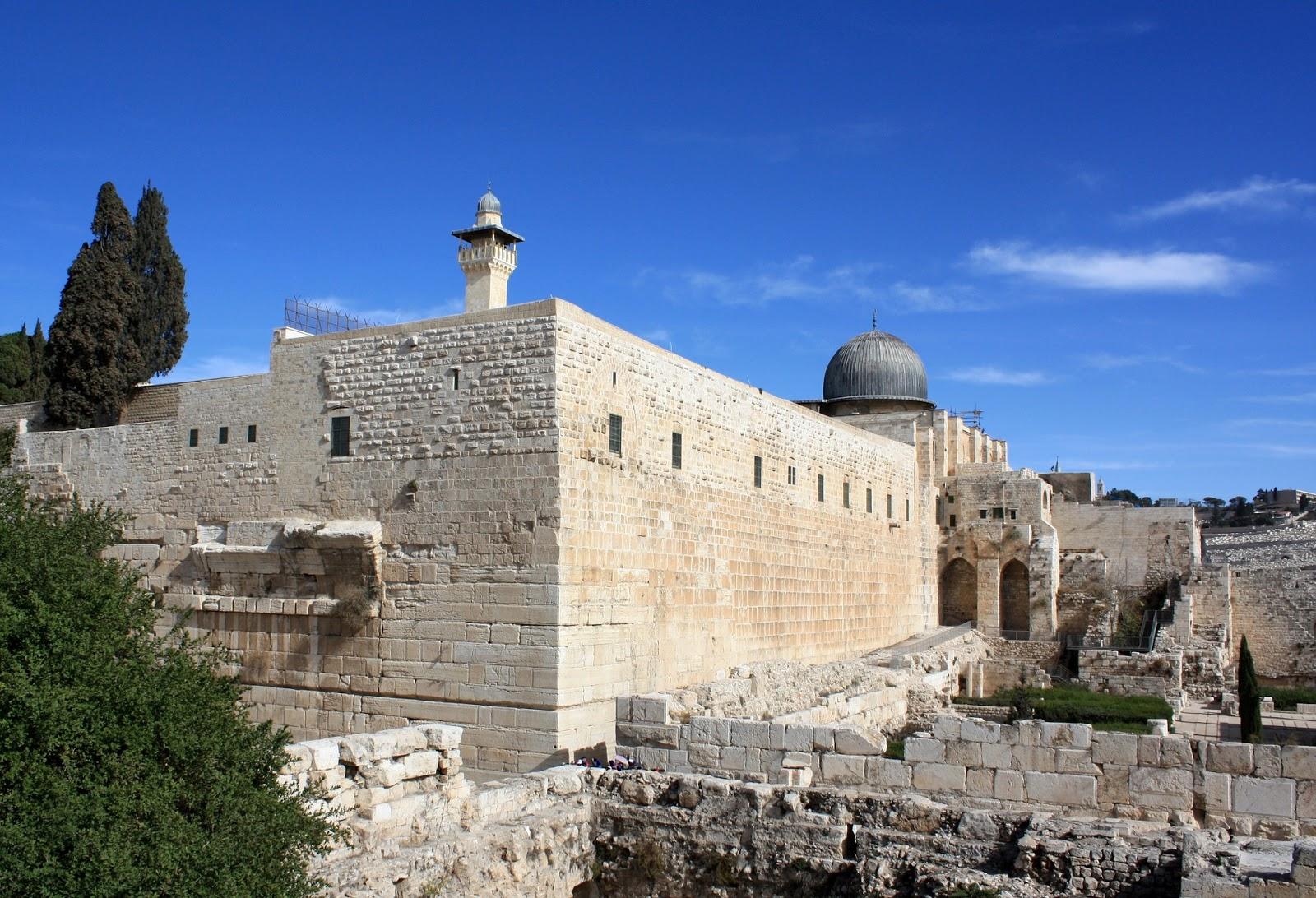 Explanada do templo de Herodes
