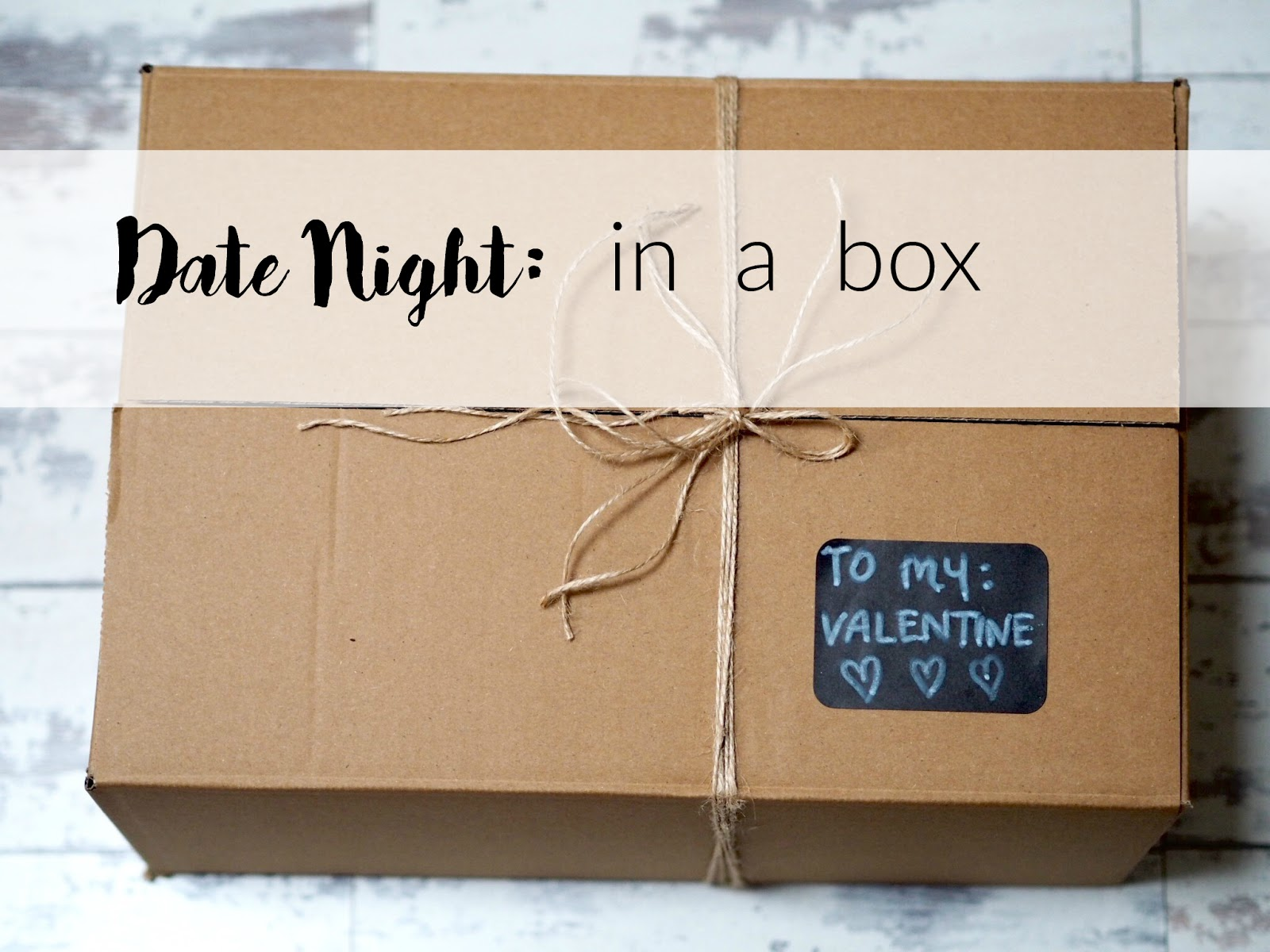 Date Night In A Box: A Very Special Valentines Day Gift ...