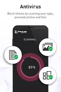 تحميل تطبيق ZoneAlarm Mobile Security Premium v1.70-129 [Subscribed] Apk