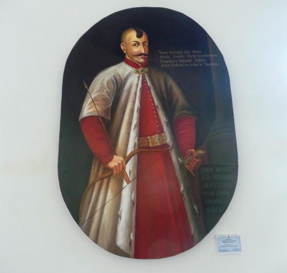 Вишневецкий дворец. Портрет Дмитрия Вишневецкого (Байды)