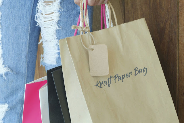 Importance of using a krafted paper bag.