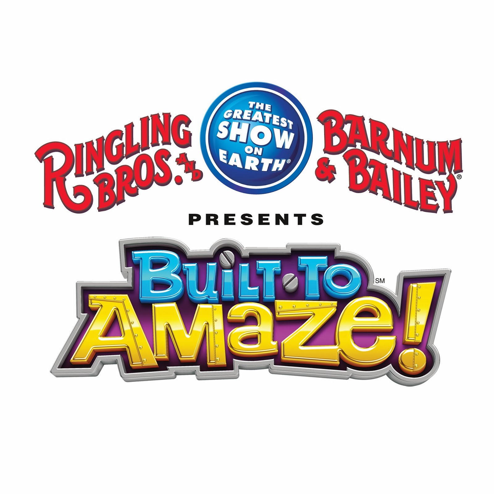 Ringling Bros. and Barnum & Bailey Built to Amaze logo