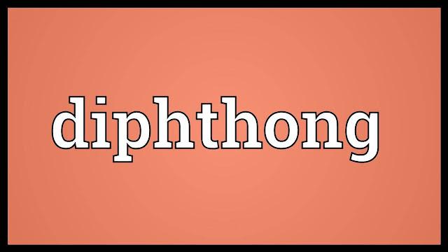 Diphthong, vokal, gabungan, belajar, aksara, thai