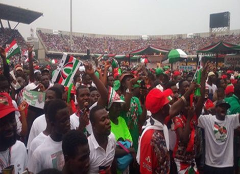 Thousands Of Supporters Gather For NDC's Final Rally (PHOTOS)