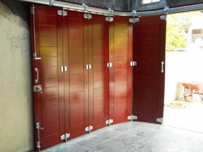 model pintu garasi minimalis