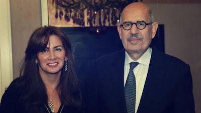 Hala Al-Banay and ElBaradei