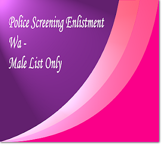 Wa male screening list