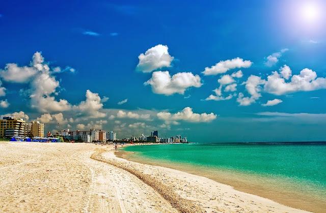 Playas turísticas en Miami