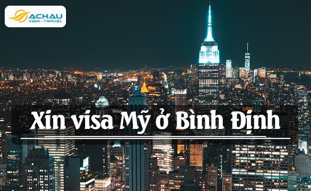 Xin visa Mỹ ở Bình Định