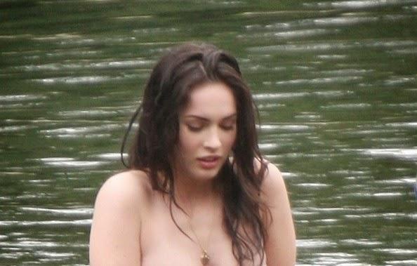 Megan Fox enjoyed lake alone for Bathing Shop ...