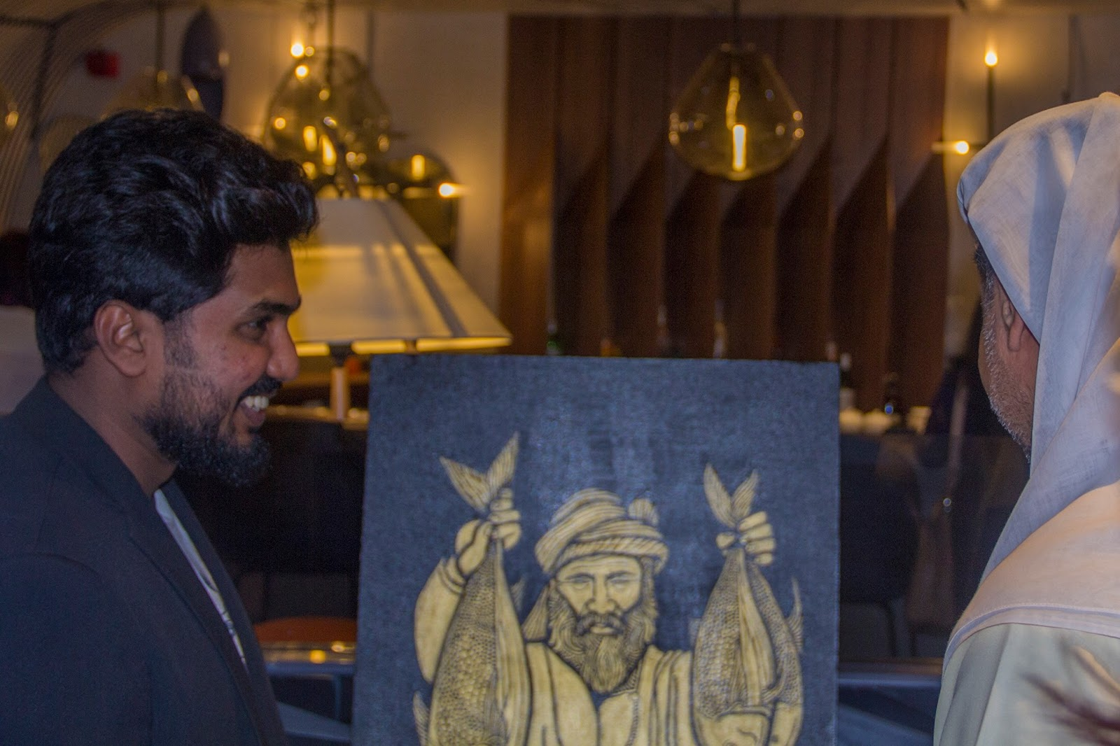 Artist Sijin Gopinathan in Year of Zayed (UAE culture & tradition) - Art Exhibition