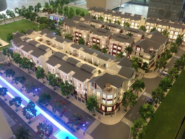 mô hình dự án Green Pearl Minh Khai