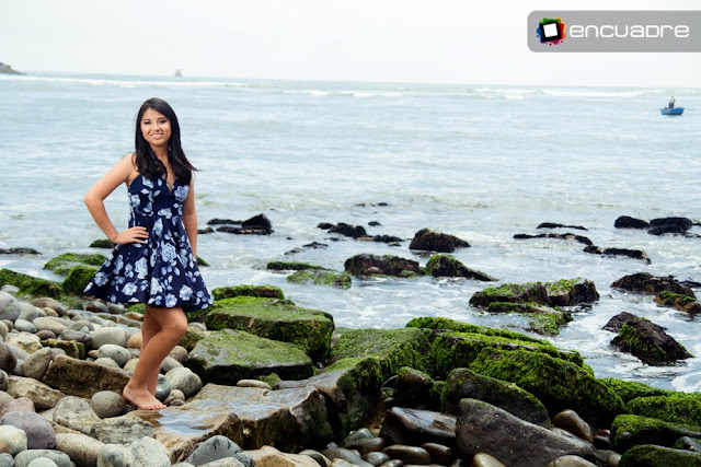 sesion fotos quinceaños playa