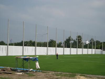 ตาข่ายสนามฟุตบอล24 สนามซ้อมสุพรรณบุรี FC 2