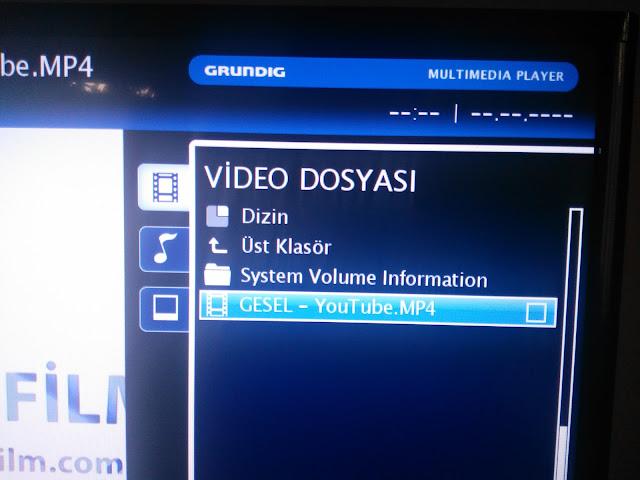 film video dosyasını seçiyoruz