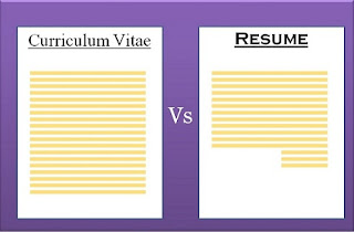 How Can Analyse Resume Vs CV?