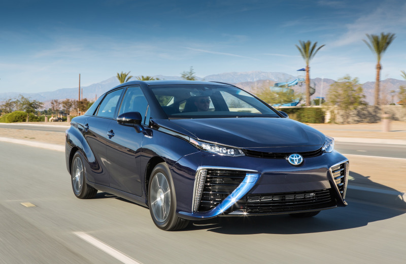Curly The Area Around Los Angeles And San Go Provide 68 Hydrogen Stations Also State Of California In Collaboration With Toyota Is Predicted