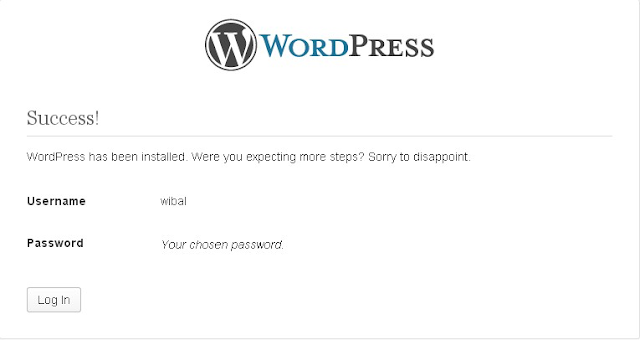 install wordpress di localhost