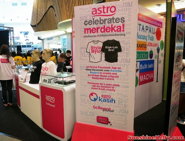 merdeka 2013, Astro, Your Malaysian is Showing, Go Beyond, Positive Engine, Event, Mid Valley, astro celebrate merdeka event,