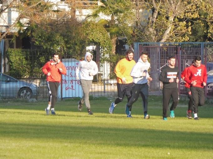 Πολύ τρέξιμο μετά τα Χριστούγεννα για τους άνδρες του Απόλλωνα Καλαμαριάς-Φωτορεπορτάζ