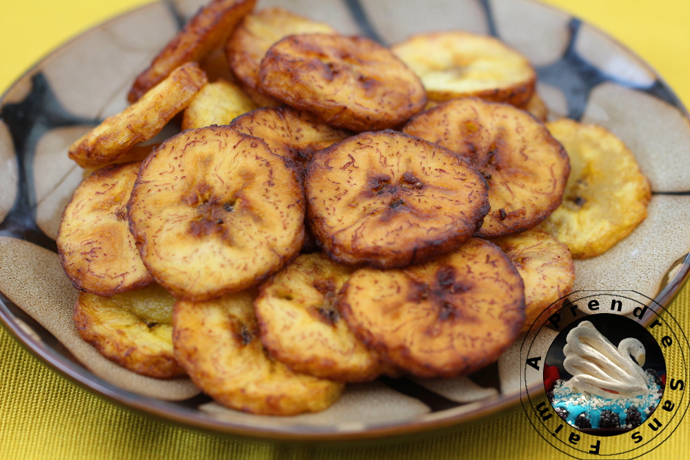 Chips de bananes plantain
