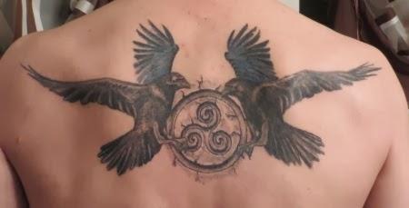 mond raben tattoo