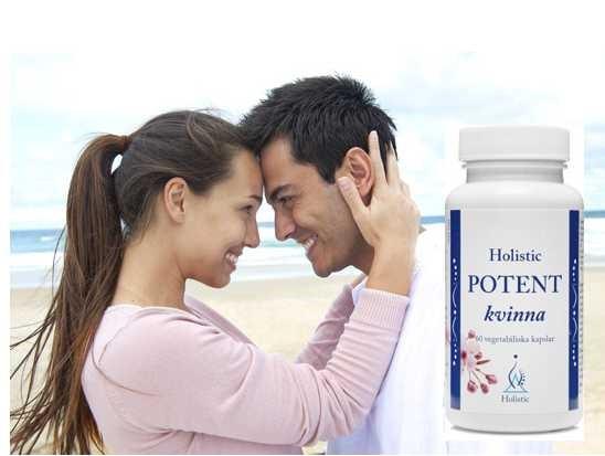 Potent Kvinna Holistic Suplement Diety na potencję dla kobiet