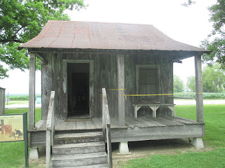 Sharecroppers House Exterior Example