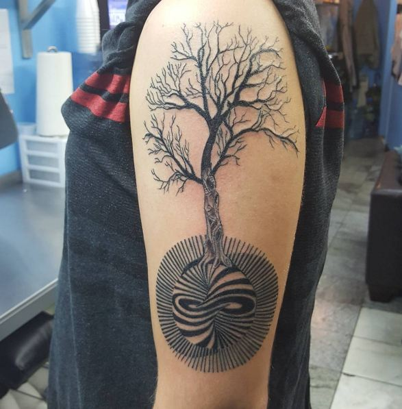 50 Meaningful Tree Tattoos Designs for Nature Lovers () of 30 by Patrick