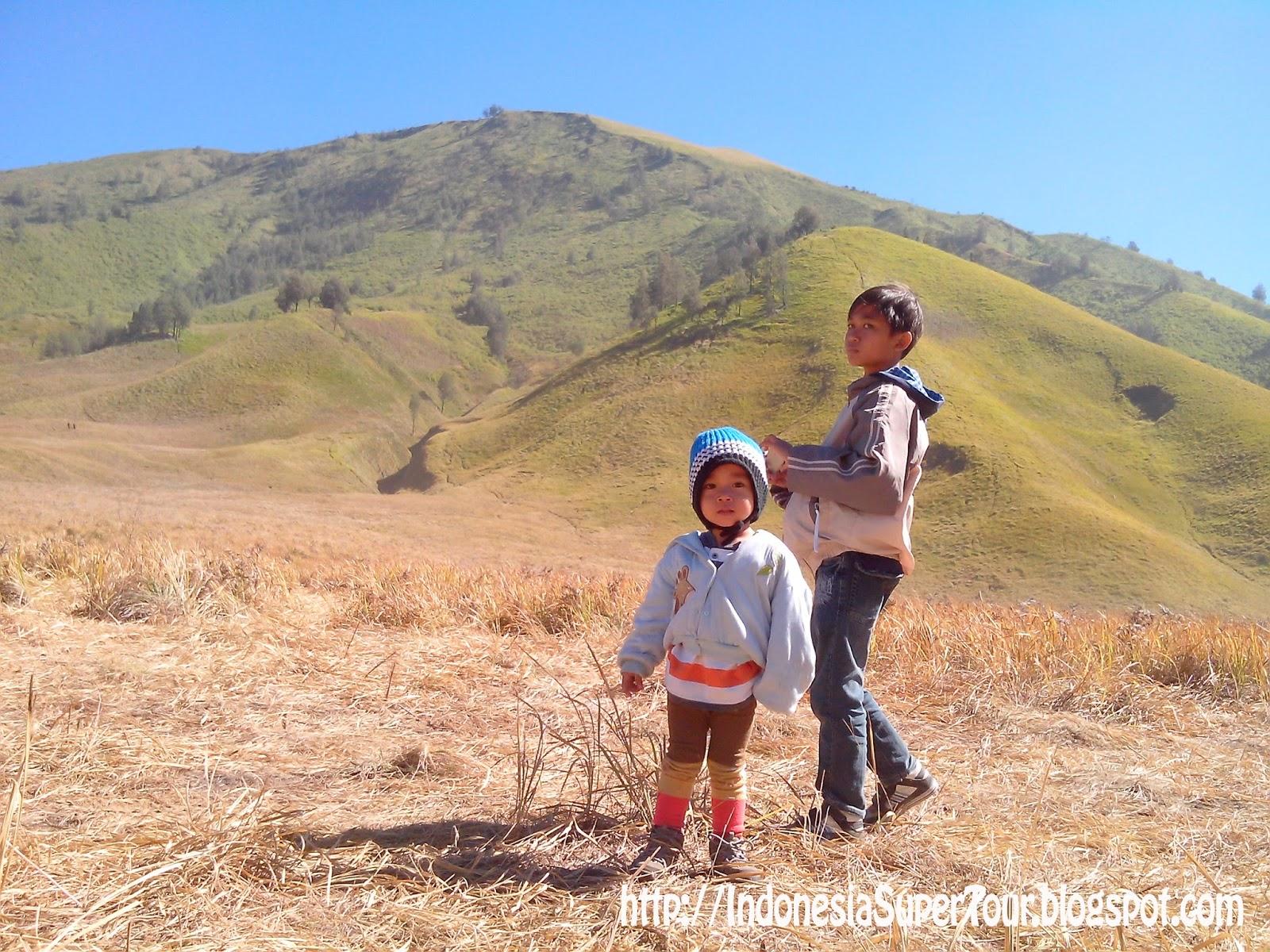 Si Kecil Java Pun Tak Menyia Nyiakan Untuk Berlarian Di Padang Savana